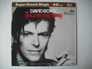 "【12""】DAVID BOWIE / WILD IS THE WIND"
