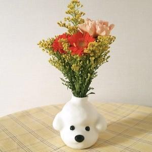 poodle vase / プードル ベース 花瓶 オブジェ 一輪挿し おうちカフェ 韓国 インテリア 雑貨