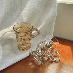 antique style goblet cup 2colors / アンティーク調 ゴブレット コップ オブジェ 韓国 北欧 雑貨