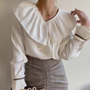 design two frill tops 2color