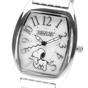 ピーナッツ PEANUTS 腕時計 レディース SN 1033 A クォーツ オフホワイト シルバー