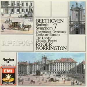 [中古CD] ベートーヴェン:交響曲第7番 ノリントン/ロンドン・クラシカル・プレイヤーズ