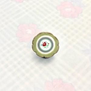 TARATATA 花柄プレートのリング