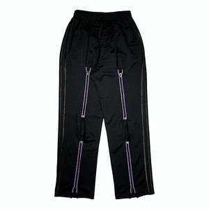 AV「 Aurora 」Reflect Jersey Bondage Pants BK×BK