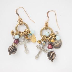 < Earrings >P-916