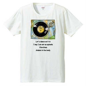[Tシャツ] Let s dance as it is