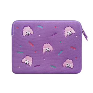 Laptop Sleeve - Poodle