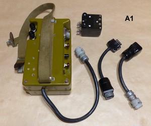 超レア物 ロシア軍用 通信機用 シーメンスキー スイッチ 電池 ボックス  未使用だけどコネクターに錆有り ジャンク