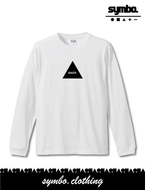 symbo. / unco.Long Sleeve T-shirt [White]
