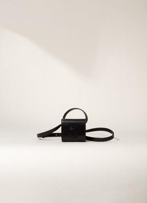 LEMAIRE MINI CAMERA BAG Black X 203 AC312 LL071