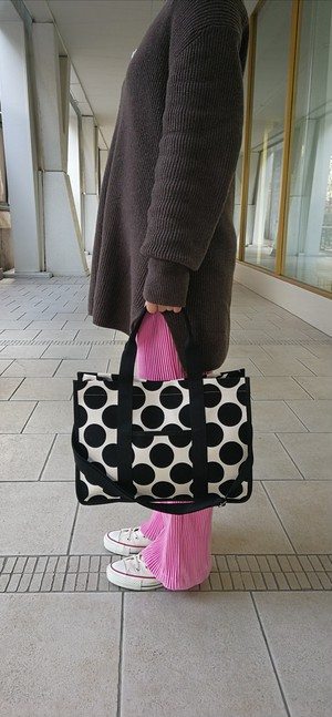 tidy dot bag blk