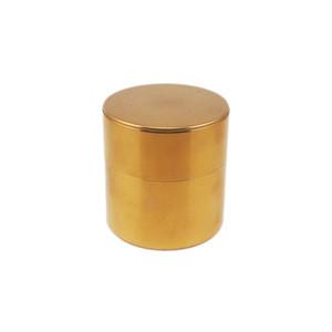 開化堂 茶筒 取込盆用120g 真鍮