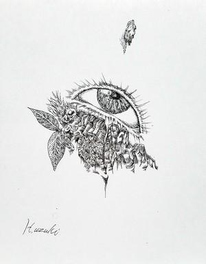 習作「eyes No.2」