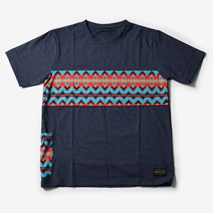 MMA Pendleton Panel Pocket Tee (Navy)
