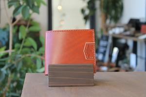 二つ折り財布【GISELE -ジゼル-】Rugato/ORG