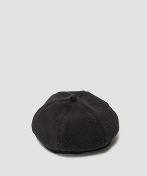 OUR LEGACY Fleece Beret Black A4193BBF