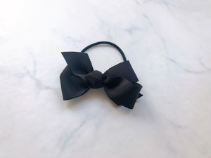 medium hair bow【black】