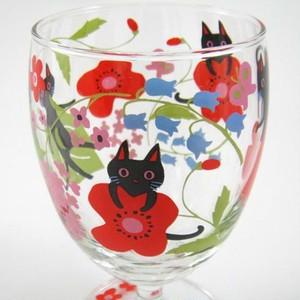NEKOにゃ~ご ジュースグラス(花)(B-2-004)