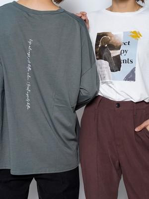 【2colors】COLLAGE PRINT T-SHIRT