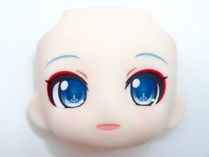 【850】 雪ミク タンチョウ巫女Ver. 顔パーツ 微笑み顔 ねんどろいど