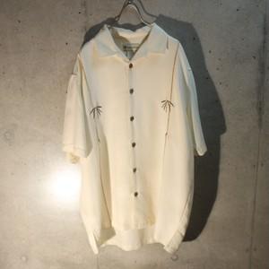 Rayon Poly Embroidery Bamboo Shirt