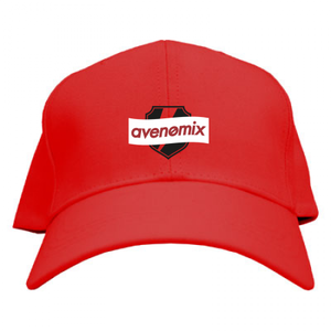 avenomix / BOX-LOGO CAP RED