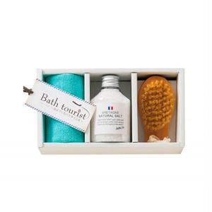 バスソルト Bath tourist(ブルターニュの自然塩)入浴剤セット bt008-1706