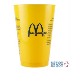 マクドナルド プラスチックカップ モンローハイスクール 欠け有り