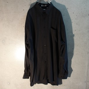 Long sleeve rayon poly shirt