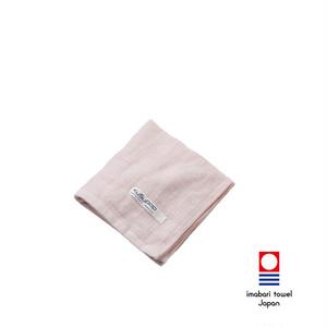 KuSu POP paletone 3重ガーゼウォッシュタオル/ピンク