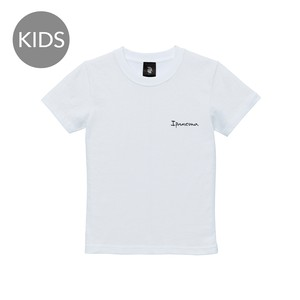 ipanema Logo(point) 半袖 白 KIDS