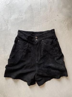 vintage suède short pants