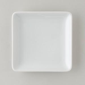 正角皿ミニ WHITE(白) Scandinavia (スカンジナビア) 波佐見焼