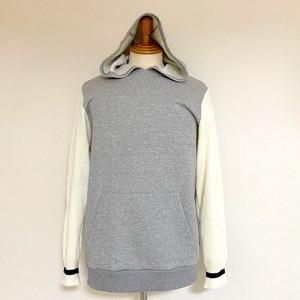 Switch Pullover Parka Gray / Wihte
