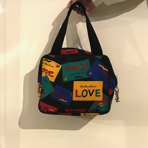 Yves Saint Lauent 'love' mini hand bag