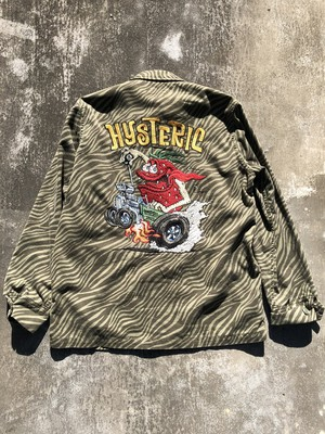 """HYSTERIC GLAMOUR """"embroidery"""" zebra jacket"""