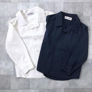ダブルボタンシャツ(2カラー)No.801001 #子供服 #子ども服 #男の子 #アウター