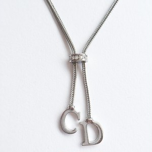 """Dior"" silver necklace[n-171]"