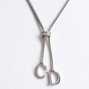 """""""Dior"""" silver necklace[n-171]"""