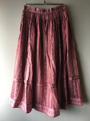 OLD Flower Pattern Skirt