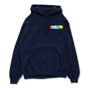 LJJ Magic Circle Hooded Sweat (Navy)