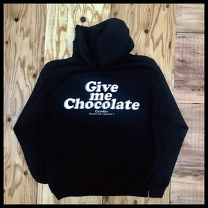 GIVE ME CHOCOLATE HOODIE【BLACK】