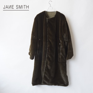 JANE SMITH/ジェーンスミス・Reversible Fur Coat