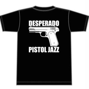 PISTOL JAZZ/DESPERADO T-shirts col.blk