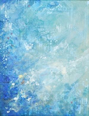 LIFE LXII (62) - BLUE(原画)
