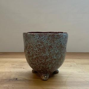 Ceramic Pot - 脚付