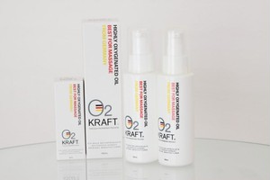 高濃度酸素オイル O2 KRAFT ノンフレグランス 100ml