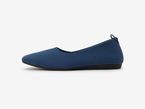 plain flat pattern / BLUE