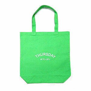 THURSDAY - ARCH TOTE BAG (Lime)