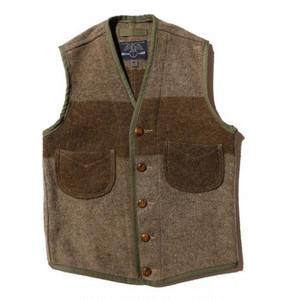 JOHN GLUCKOW 5th Anniversary Fishermans Friend Blanket Vest(フィッシャーマンズ フレンド ブランケットベスト) Special Vintage FabricD Sサイズ [JG43563]